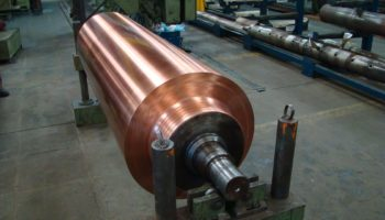 revestimento de cobre