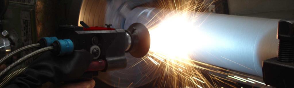processo industrial de aspersão térmica