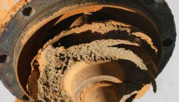 peca industrial que necessita de revestimento contra desgastes