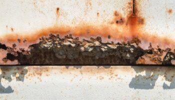 exemplo de corrosão por frestas
